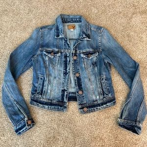 American Eagle jean jacket size small